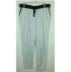 Bobbie Brooks Burnout Sweatpants Gray Joggers